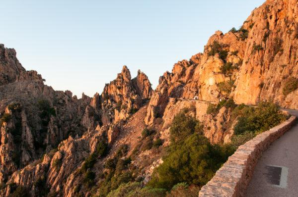 Rotsen van Piana Corsica westkust