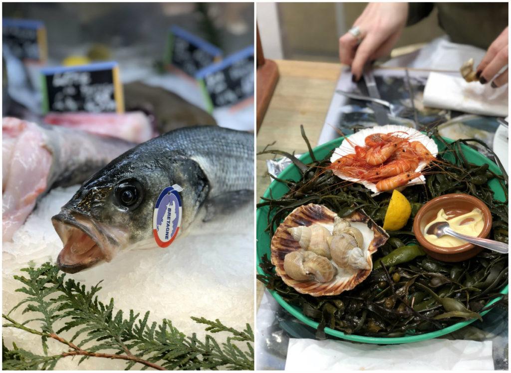 romantisch weekend in Parijs oesters fruits de mer