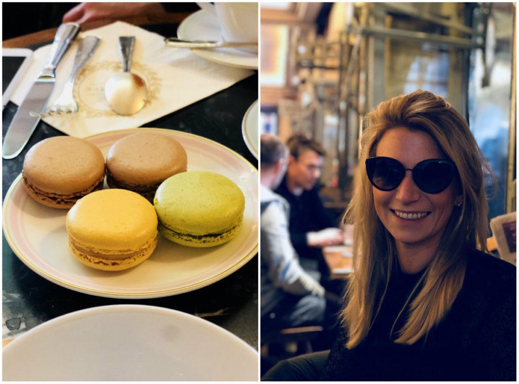 romantisch weekend in Parijs Laduree macarons en Café Hugo Place des Vosges