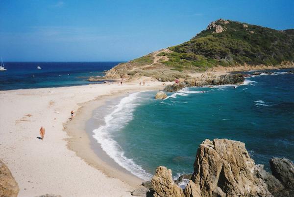 Strand van Escalet - Plage de l'Escalet bij Saint-Tropez