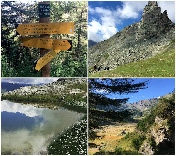 Wandelen in de natuur van de zuidelijke Alpen