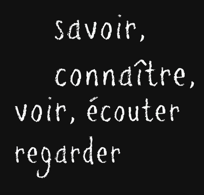 Franse taal verwarrende werkwoorden