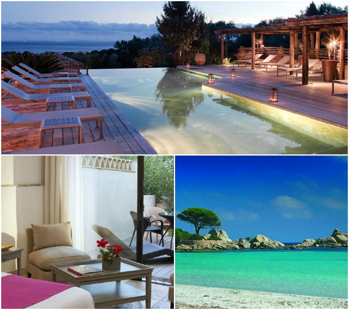Droomhotel Corsica les Bergeries de Palombaggia