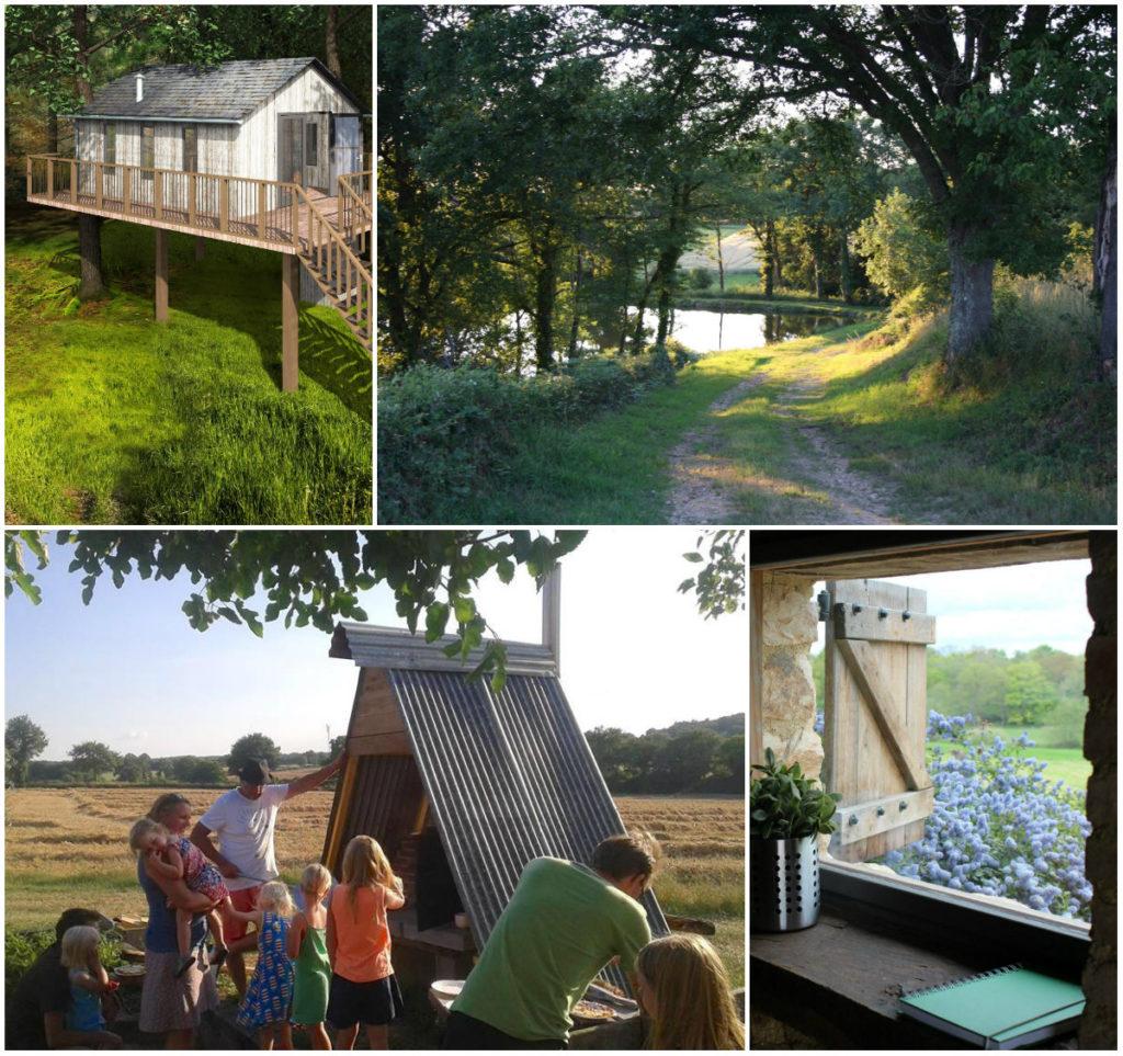 Camping-glamping en vakantiehuizen Domaine Bonneblond