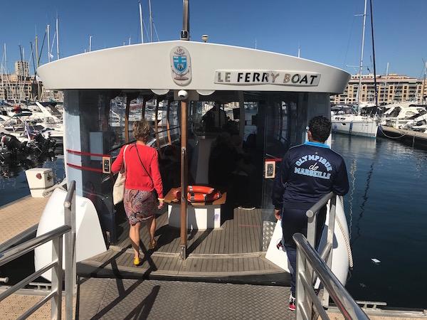 Ferry nemen in Marseille