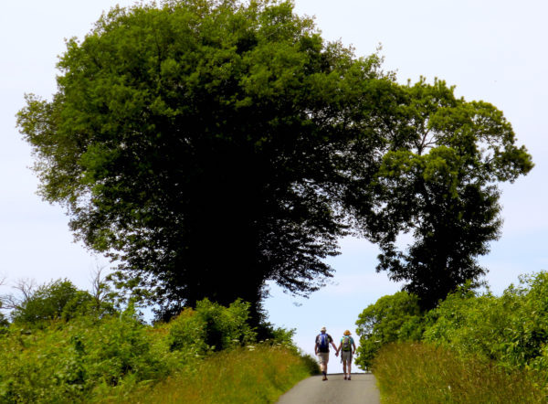 wandelvakanties in Frankrijk op het platteland