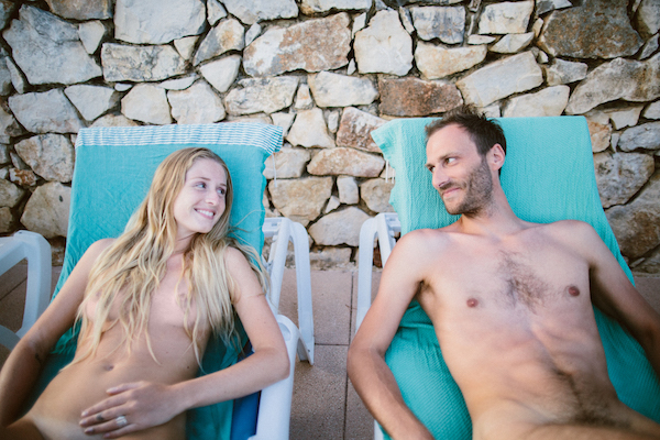 La Sablière Nudisten camping in Frankrijk