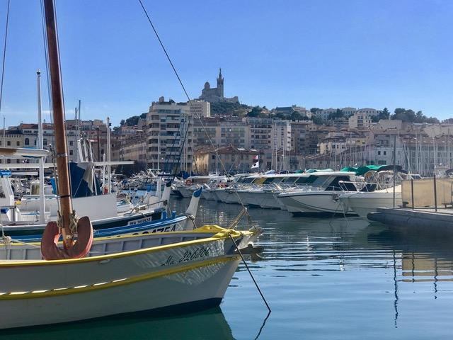 Marseille Vieux-Port boten basiliek