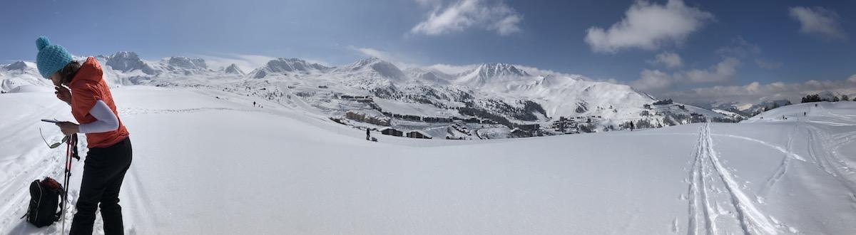 Ski Randonne La Plagne