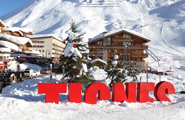 Tignes Franse Alpen wintersport