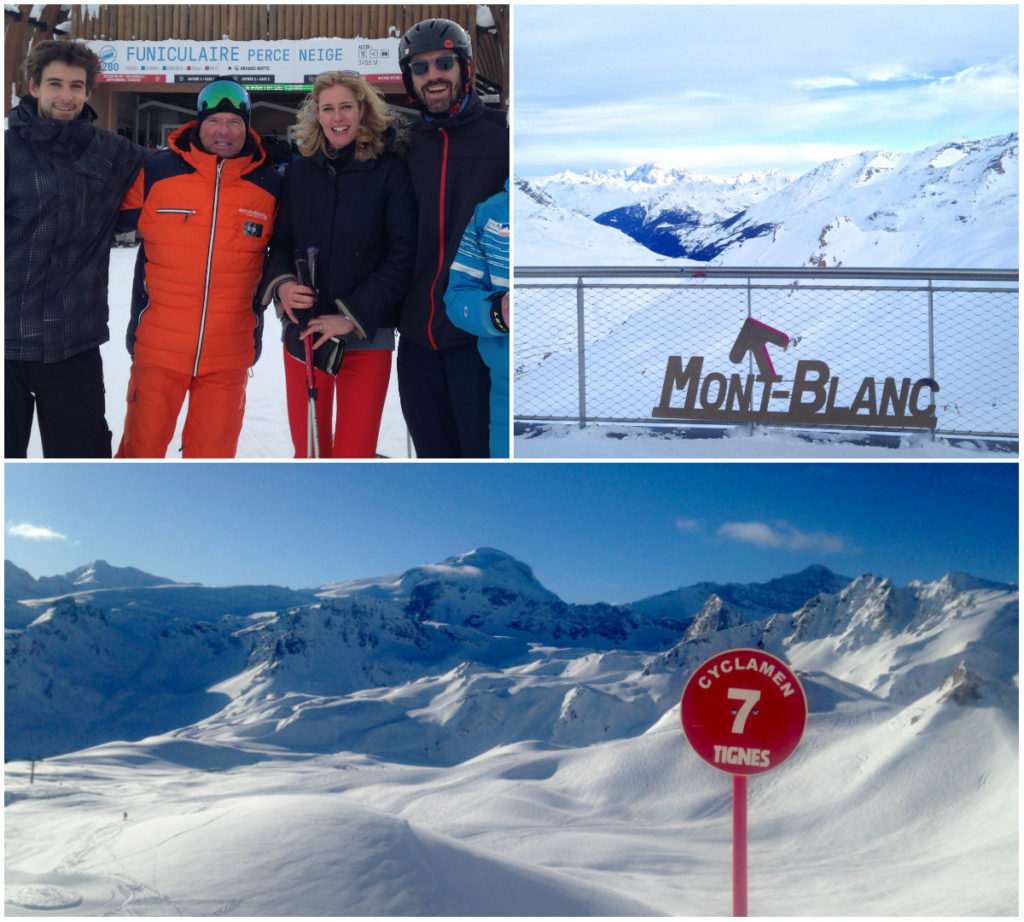 skigebied van Tignes Espace Killy