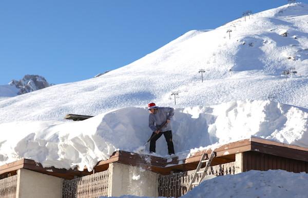 ignes Franse Alpen wintersport veel sneeuw