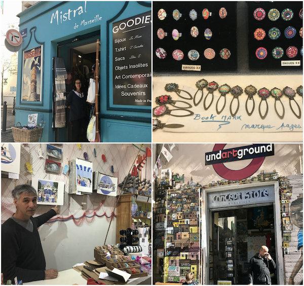 Stedentrip Marseille: shoppen in wijk Le Panier
