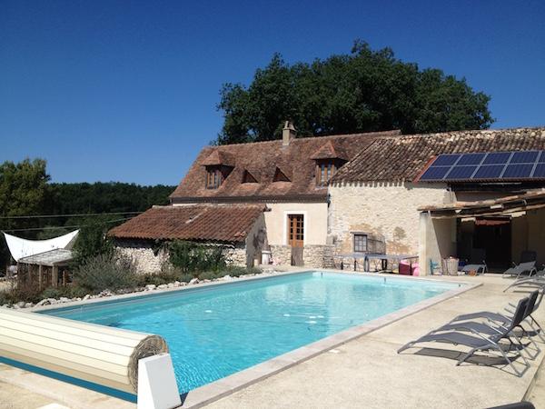 Zwembad van Gite Les Merulies