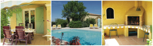 Charmant vakantiehuis Cruzy Languedoc Roussillon