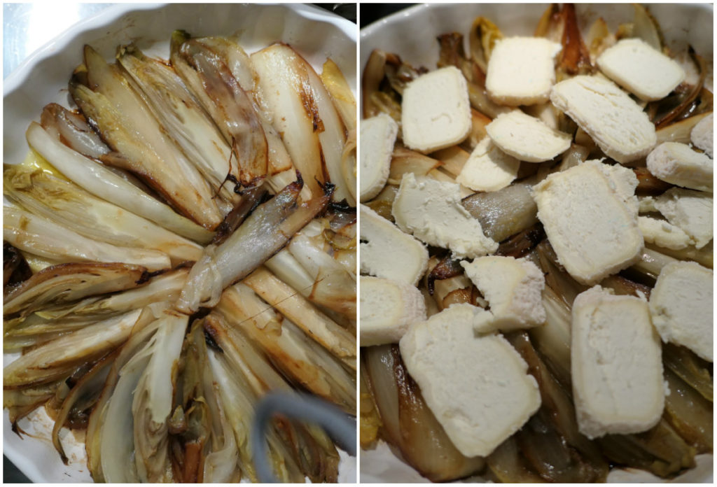 recept tarte tatin met witlof en geitenkaas