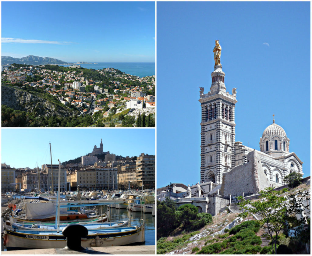 Marseille basiliek Notre Dame de la Garde
