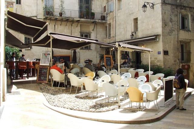 Montpellier zonnige steden terrassen - CC/Josee