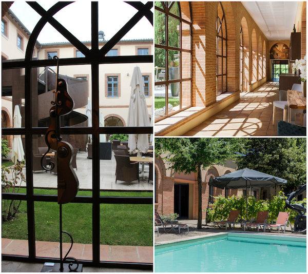 Hotel Abbaye des Capucins in Montauban