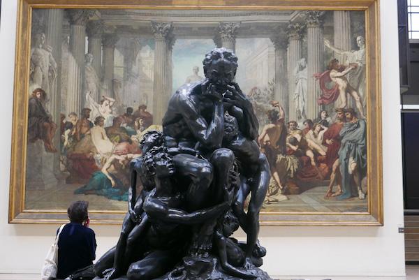 Beeldhouwkunst in Musee d'Orsay