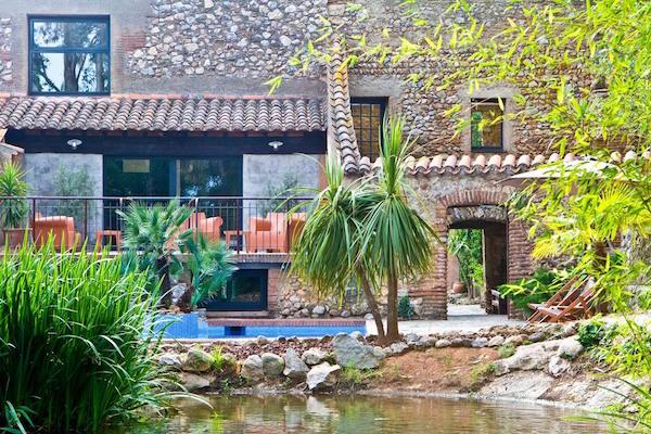 Casa 9, hotel niet ver van de Spaanse grens