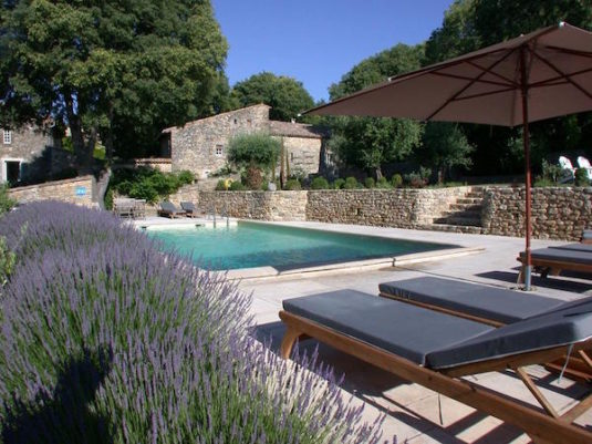 Vakantiehuis Mas d'Oléandre, geen kinderen; stilte rond het zwembad