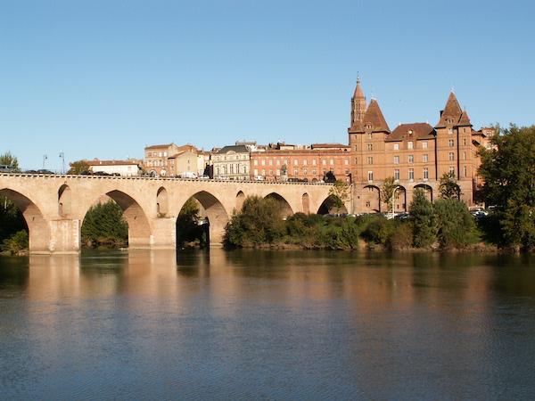 Montauban: brug en museum