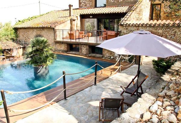 Zwembad van het hotel Casa 9