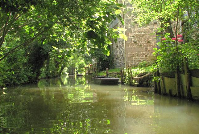 Marais Poitevin mooie rustige streek in Frankrijk