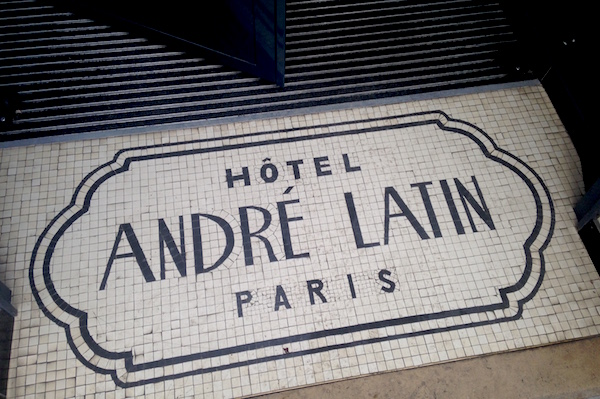 André Latin hotel in Parijs wijk Quartier Latin