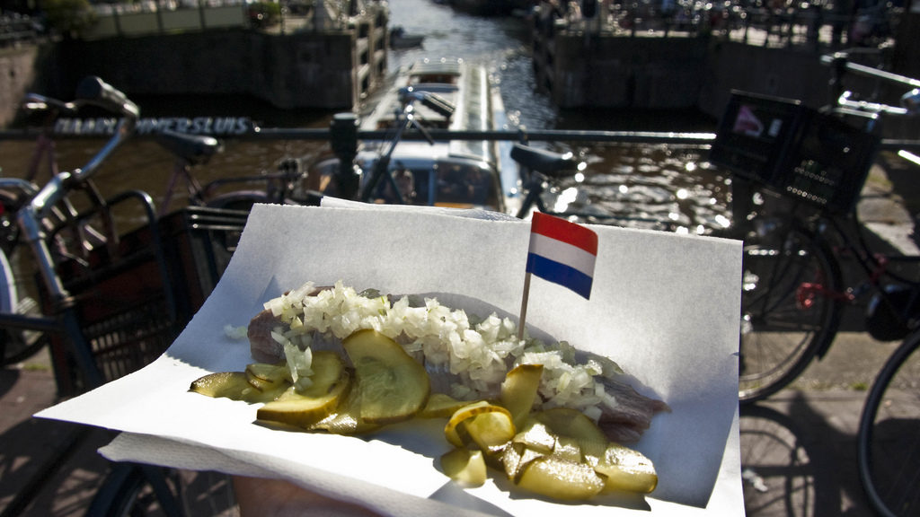 Nederlandse eetgewoontes rauwe haring voor Vikingen