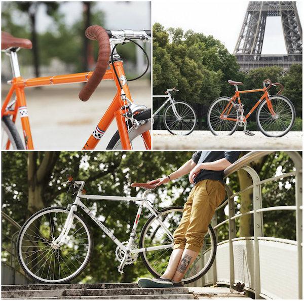 Nieuwe retro-fietsen van Peugeot