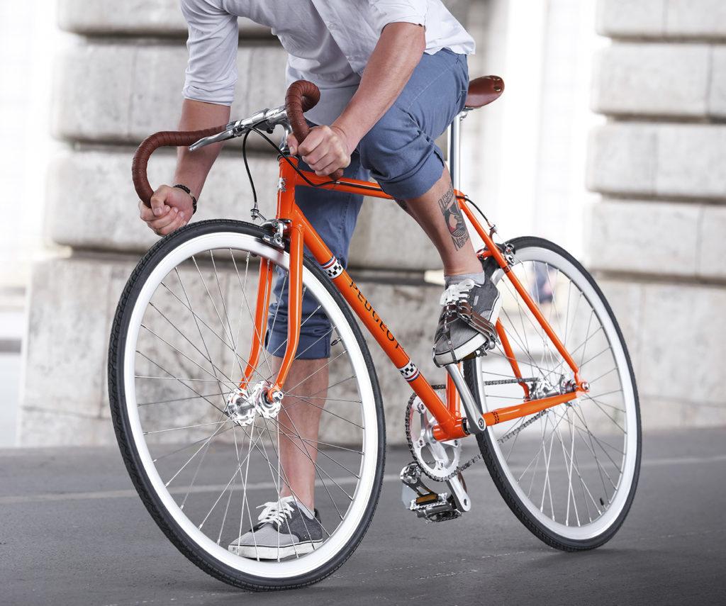Nieuwe vintage fiets van Peugeot