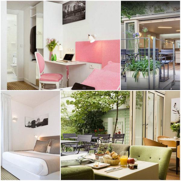 Hotel Mistral, leuk familiehotel in Parijs
