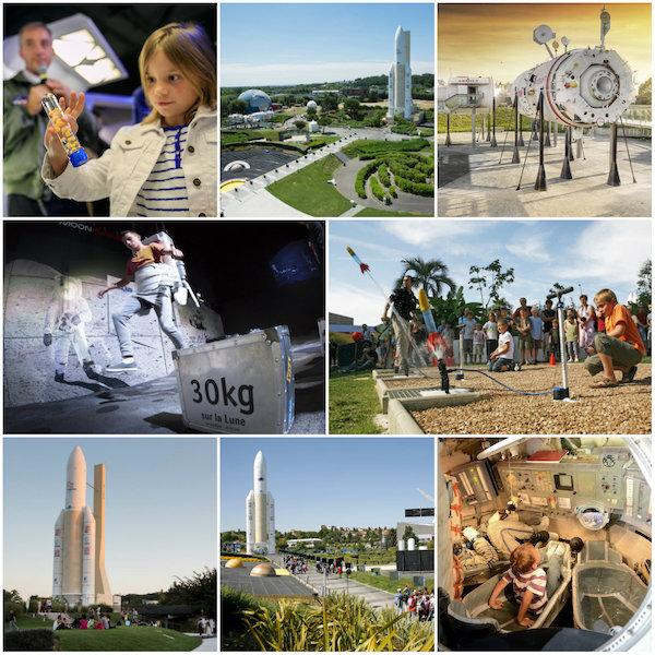 Cité de l'Espace, het themapark over ruimte en ruimtevaart
