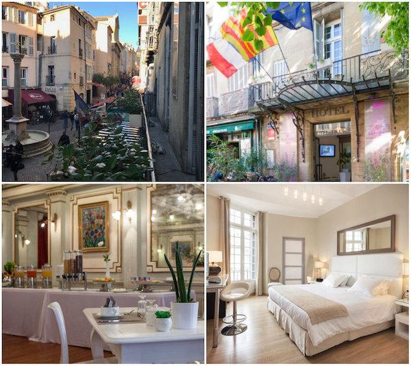 Hotel de France in Aix-en-Provence