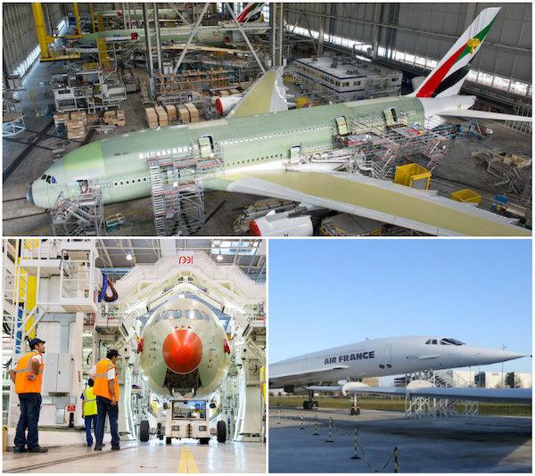 Luchtvaartmuseum en Airbus-fabriek Aeroscopia in Toulouse