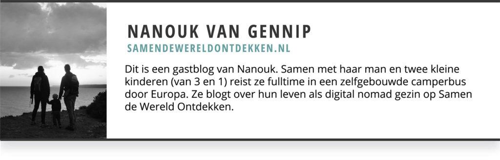 Nanouk Van Gennip Gastblogger