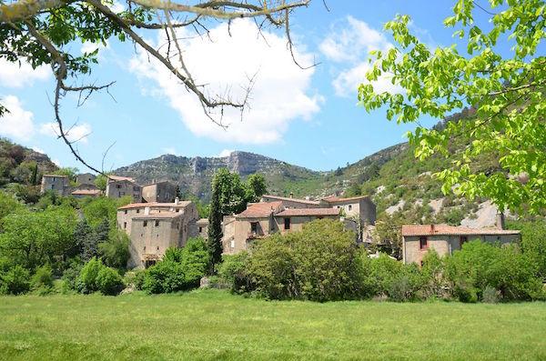 Navacelles: het dorp