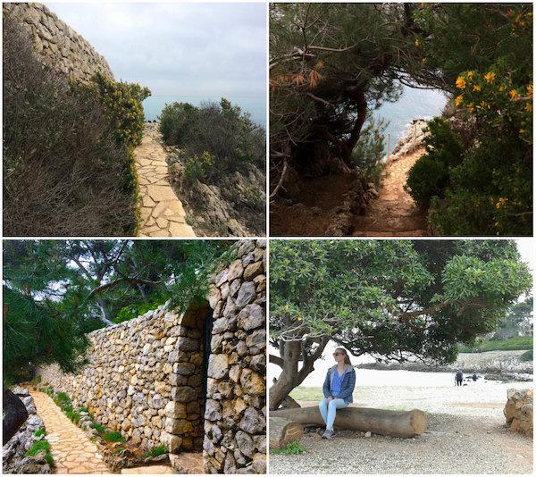 Sentier du Littoral bij Antibes