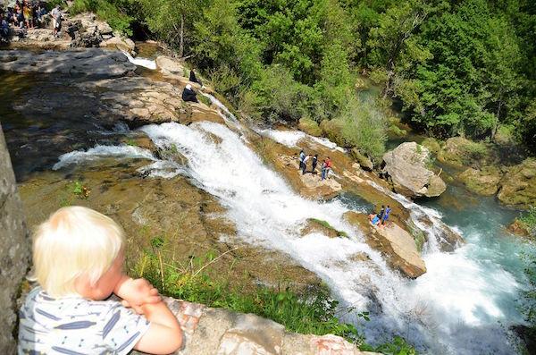 Waterval bij Navacelles