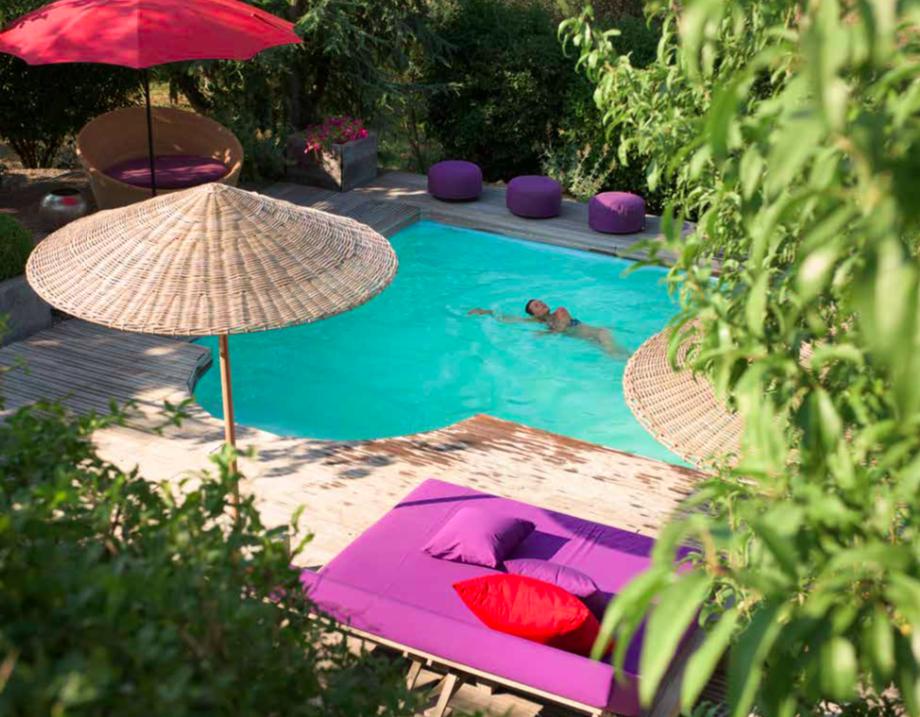 Zwembad Villa Rouge Village Castigno