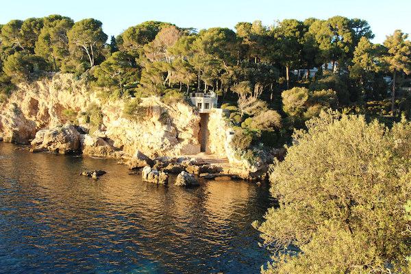 Cap d'Antibes is het schiereiland van Antibes