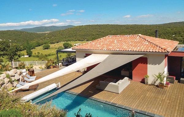 Vakantiehuis met zwembad in Argelliers, Languedoc