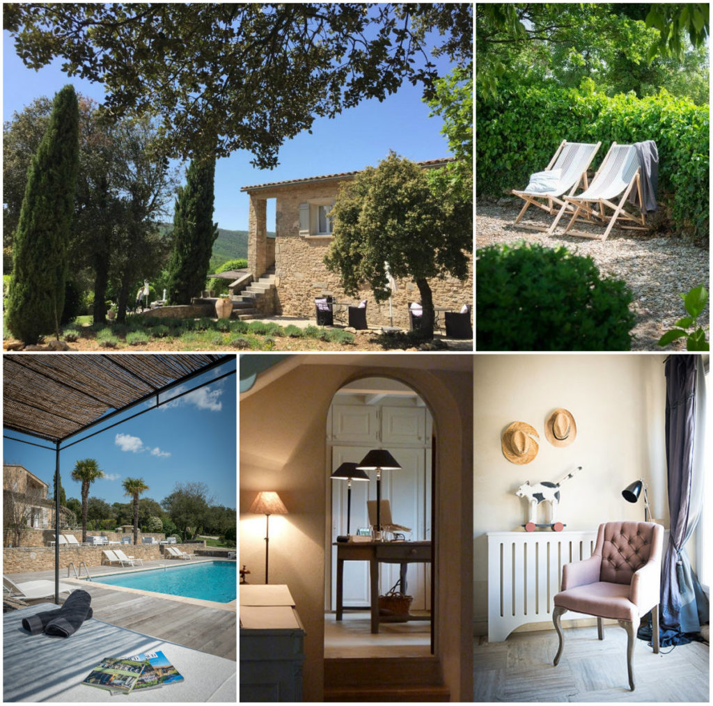 Chambres d'hotes Bonnieux Luberon zwembad