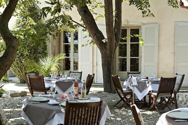 Restaurant op Chateau de Ciran