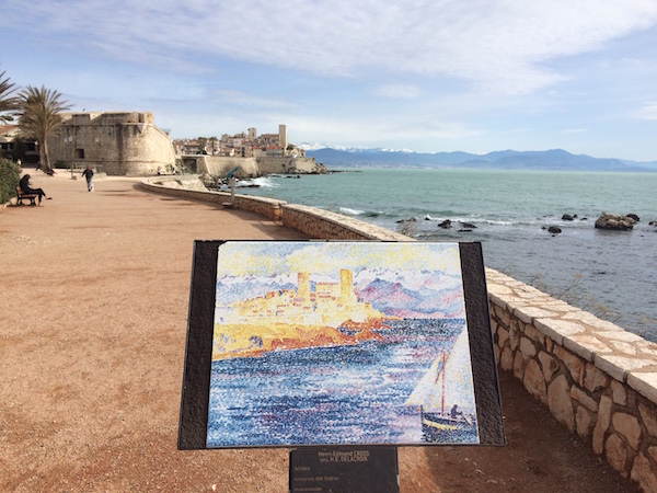 La Route des Peintres - The Painters' Trail in Antibes