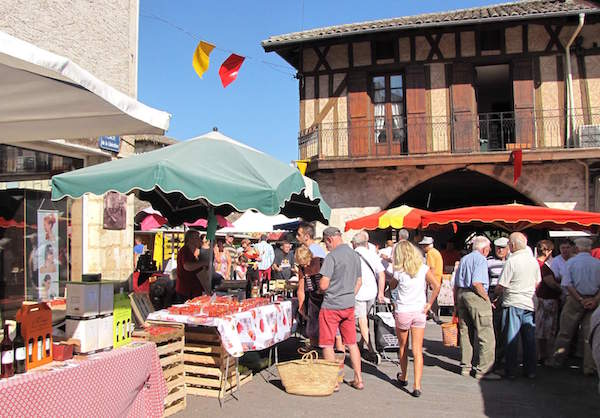 Markt in Lot-et-Garonne