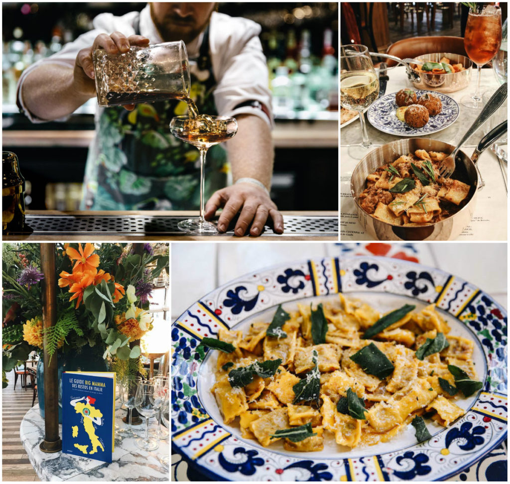 Nieuwe foodhal XL-restaurant Parijs La Feicità