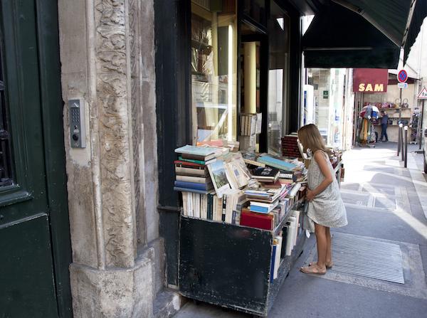 Quartier Latin boekenwinkel